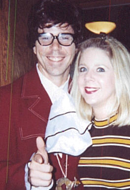 These are nothing like our 1999 costumes (Early 70u0027s chick and Dirk Diggler). Austin wears glasses and has a froofy shirt. Dirk doesnu0027t.  sc 1 st  theneaus.com & Halloween Costumes